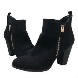 Call It Spring Black Kokes Ankle Booties